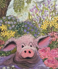 """Oops Daisy"" by Kerry Munns. Paintings for Sale."