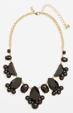 bold block bib necklace