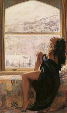 women-in-the-paintings-03 Steve Hanks is recognized as one of the best watercolor artists working today.