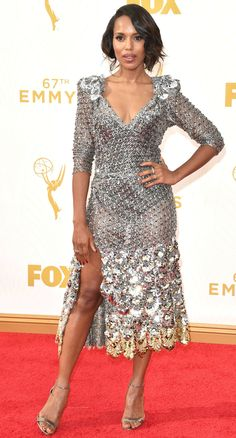Kerry Washington at the 2015 Emmys