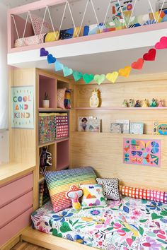 art deco home decor Girls Bedroom, Bedroom Decor, Pinterest Room Decor, Rainbow Room, Kids Room Organization, Kids Room Design, Little Girl Rooms, Kid Spaces, House Colors