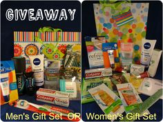 Enter to WIN your choice of a Mens or Womens Beauty Gift Set plus a chance to win over 35 prizes! #giveaway #Christmas #BlogHop