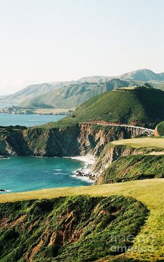 Northern California coast route along the spectacularly breath taking Highway 1.