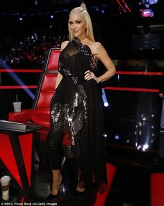 Rookie season: Gwen Stefani joined The Voice this season and failed to land a singer in the finals