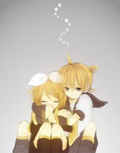Vocaloid- the twins, Len and Rin kagamine Kaito, Hatsune Miku, Anime Mangas, Art Images, Image Boards, Doujinshi, Anime Couples, Twins, Lily