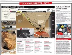 The Sunday Times South Africa have been a member for a couple of months now, here you can see an example of one of their productions, using an interesting combination of infograpics and a map!