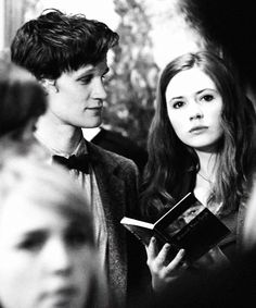 The Doctor + Amy Pond