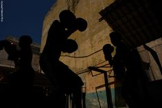 Havana Fight Club by Achim Lippoth, via Behance