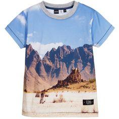 $16.99 (Buy here: https://alitems.com/g/1e8d114494ebda23ff8b16525dc3e8/?i=5&ulp=https%3A%2F%2Fwww.aliexpress.com%2Fitem%2FMolo-Kids-Mountain-Print-T-Shirt-2016-Summer-Mini-Rodini-Short-Sleeve-Teenage-Boys-T-shirt%2F32726299412.html ) Molo Kids Mountain Print T-Shirt 2016 Summer Mini Rodini Short Sleeve Teenage Boys T-shirt Brand Children Clothing for just $16.99