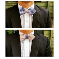 Reversible bow ties. Tie these 8 different ways, means 8 different ties! What a great deal. Perfect for gifts!