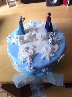 Frozen cake for a beautiful girl! :)