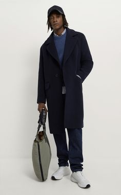 Nylons, Zara, Navy Coat, Nylon Tote Bags, Khaki Green, Normcore, Zipper, Jackets, Lobster Clasp