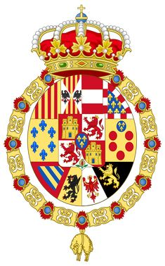 Coat of arms of King Francis of Spain
