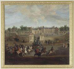Louis XV at the château de La Muette