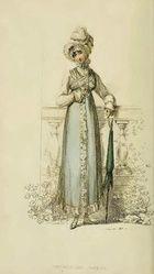 Promenade Dress, Ackermann's, 1814