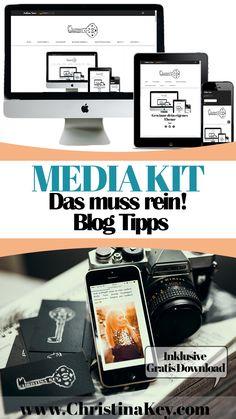 Blogger Tipps - Das muss wirklich in Dein Media Kit! In diesem Artikel zeige ich Dir was ein Media Kit ist, was alles rein muss und schenke Dir außerdem noch eine attraktive Media Kit Vorlage als Gratis Download! Entdecke jetzt weitere hilfreiche Artikel rund um die Themen Fotografie und Bloggen auf CHRISTINA KEY - dem Tipps, Lifestyle und Fotografie Blog aus Berlin