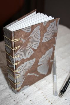 Kadri Crafts Notebook- secret Belgian binding