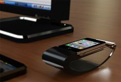 Standing Dock for iPhone by Che-Yu Lu. Would you buy one?  More: http://freshersmag.com/standing-dock-for-iphone-by-che-yu-lu/