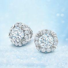 Capri Jewelers Arizona ~ www.caprijewelersaz.com Starlit Diamond Earrings