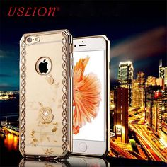 Phone Case For iPhone 7 7Plus 5 5s 6 6s 6Plus 6s Plus Case Luxury Bling Diamond Electroplate Soft TPU Phone Case Back Cover Bags #>=#>=#>=#>=#> Click on the pin to check out discount price, color, size, shipping, etc. Save and like it!