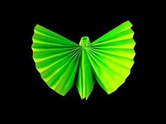 How to make an Origami (Napkin) Butterfly - YouTube