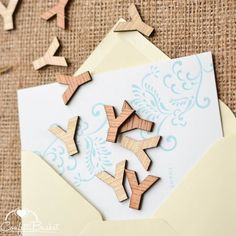 These beautiful letters will be a great rustic addition to the centerpieces you have at your next event, wedding, birthday or more! Or you can include them in your invitation as a fun addition that your friends and family will be sure to love. Rustic Wedding Reception, Rustic Wedding Centerpieces, Rustic Weddings, Wedding Decor, Wedding Ideas, Birthday Party Table Decorations, Birthday Party Tables, Wooden Alphabet Letters, Mason Jar Centerpieces