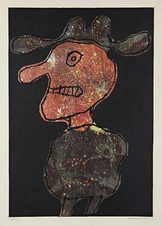 Jean Dubuffet, Personnage au chapeau (1962)