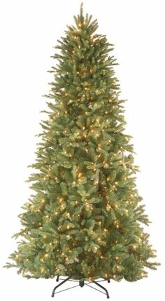 Pre Lit Fir Slim Artificial Christmas Tree with Clear Lights Holiday Home Decor #ChristmasTree #Tree #ArtificialTree #ArtificialChristmasTree #FirSlim #ClearLights #HolidayDecor #HomeDecor #Decor #ChristmasDecor #PreLit #Artificial