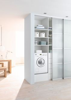 """Outstanding """"laundry room stackable washer and dryer"""" information is offered on our site. Have a look and you wont be sorry you did. Laundry Cupboard, Laundry Nook, Laundry Closet, Laundry Room Organization, Small Laundry, Compact Laundry, Closet Storage, Locker Storage, European Laundry"""