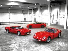 The Ferrari GTO... 1962, 1984, 2011 excuse me while i die from happiness