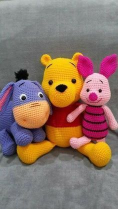 Amazing and Easy Amigurumi Pattern Images and Crochet Animals 2019 – Page 3 of 49 Amazing and Easy Amigurumi Pattern Images and Crochet Animals 2019 – Page 3 of 49 – Daily Crochet! Disney Crochet Patterns, Crochet Animal Patterns, Stuffed Animal Patterns, Crochet Patterns Amigurumi, Crochet Animals, Crochet Dolls, Stuffed Animals, Cute Crochet, Crochet Crafts