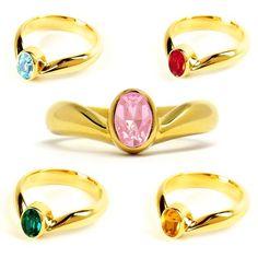 Sailor Moon Crystal. : Sailor Guardians Tiara Rings