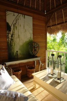 Sin lujos! No puedo explicar cuanto me gustaaa... Bali style. love the openness