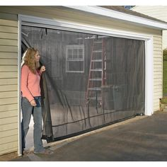 1000 Images About Garage Screen Door On Pinterest