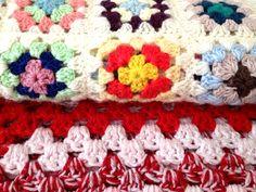 Vintage Crochet Blankets:  www.cloth-ears.co.uk blog post: Vintage Finds In Margate
