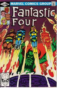 Fantastic Four 232 July 1981 Issue Marvel Comics by ViewObscura