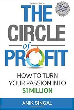 Free download or read online The circle of profit how to turn your passion into $1 million is a bestselling business pdf book authored by Anik Singal. #bussines  #ebook #pdfbooksinfo  the-circle-of-profit-how-to-turn-your-passion