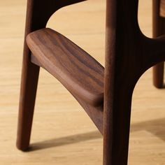 Walnut details on a sunny Fri-yay! Have a nice weekend everyone. Walnut Furniture, Danish Furniture, Bar Furniture, Kitchen Furniture, Furniture Design, Danish Modern, Midcentury Modern, Counter Stools, Bar Stools