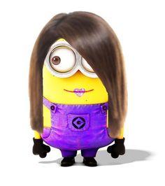 Selena Gomez minion! Do u think it looks like her?