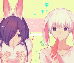 This is sooo adorable!!!  Bunny TouKen <333