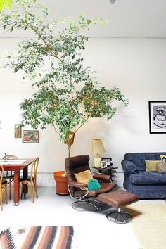 Amandine & Mihalis' Quirky Industrial Exoticism in a Renovated Brooklyn Warehouse — House Tour