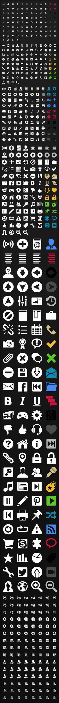 Iphone web icons