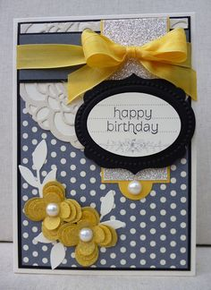 Stampin' Up! Birthday  by Amy White at White House Stamping