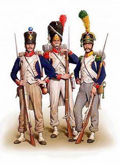 """""""French Line Infantry 1808 - 1812"""", Dmitriy Zgonnik"""