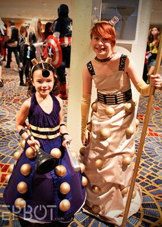 Adorable little girl Daleks! [EPBOT: Dragon Con '13: The Best Cosplay, Part 2!]