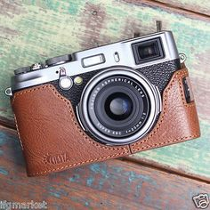 Ciesta Genuine Leather Fuji X100S Half Case Brown X100S Case for Fujifilm X100S | eBay