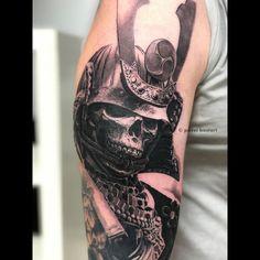 Tattoo Japanese Style, Japanese Tattoo Designs, Tatto Designs, Japanese Tattoos, Song Tattoos, New Tattoos, Tatoos, Ronin Tattoo, Ronin Samurai