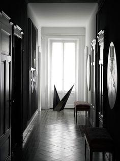 Dark Interiors: Macabre Charm in Grey Walls