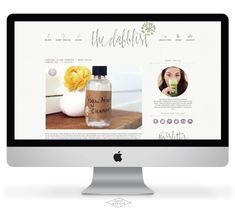 The Dabblist Blog Design