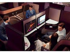 "Así se ve la nueva ""Super Business Class"" de @qatarairways #qatar #qatarairways #aerolínea #lujo #luxury #primeraclase #businessclass  via ROBB REPORT MEXICO MAGAZINE OFFICIAL INSTAGRAM - Luxury  Lifestyle  Style  Travel  Tech  Gadgets  Jewelry  Cars  Aviation  Entertainment  Boating  Yachts"